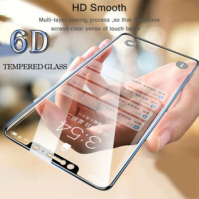 $2.29 • Buy Screen Protector For Xiaomi Redmi 7A 8A Note 8T 8 7 Pro 6D Curved Tempered Glass