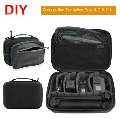 $ CDN19.41 • Buy Travel Carrying Case Storage Bag For GoPro Hero 8/7/6/5/4/3 Camera Protection