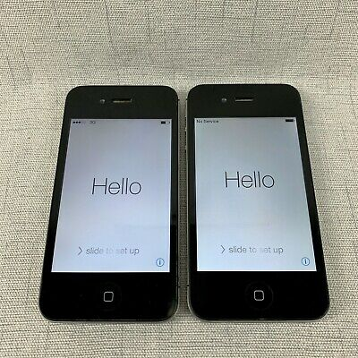 $ CDN66.22 • Buy Lot Of 2 - IPhone 4 8GB And 4S 16GB Verizon Network
