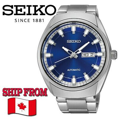 $ CDN229 • Buy SEIKO Recraft SNKN41 Automatic Blue Dial Stainless Steel Men's Watch