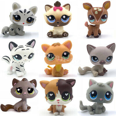 Old Littlest Pet Shop Cats And Dogs Cute Kitty And Puppy Lot Lps Toy For Girls • 4.99£