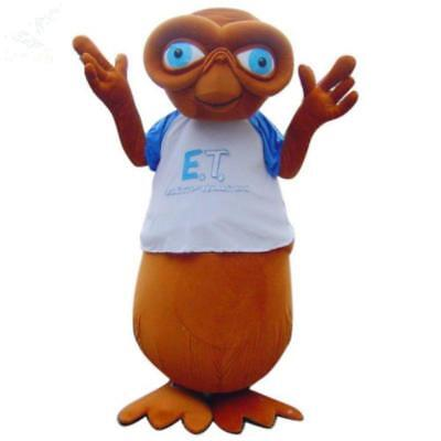 $272.93 • Buy Adult Deluxe E.T.AlienCute Mascot Costume Halloween Party Fancy Dress Outfit A++