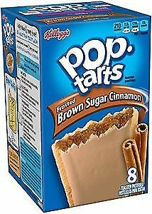 Kellogg's Pop Tarts Frosted Brown Sugar Cinnamon USA American Candy Import • 5.99£