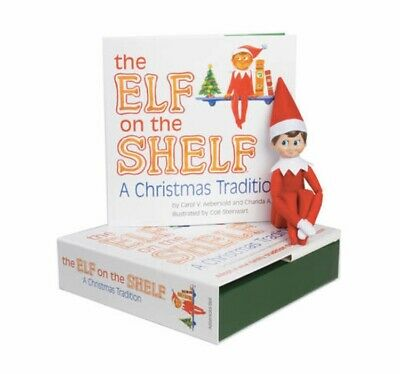 AU89 • Buy The Elf On The Shelf® Plus Story Book! A Christmas Tradition Boy Elf