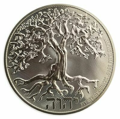 AU444.51 • Buy 2020 5 OZ PURE .9999 SILVER TREE Of LIFE COIN NEW ZEALAND MINT - IN STOCK