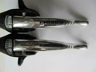 $199 • Buy Vintage Alloy Campagnolo Chorus 9 Speed Ergopower Ergos Shifters