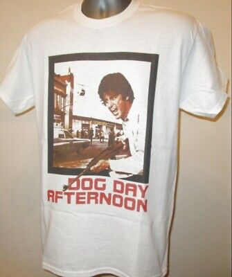 £11.95 • Buy Dog Day Afternoon Film Poster T Shirt Al Pacino Serpico Scarface Godfather V390