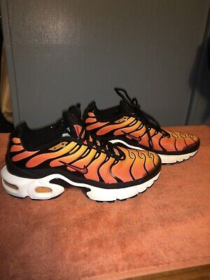$90 • Buy Nike Air Max Plus Tn Air Sunset GS Size 7Y No Box