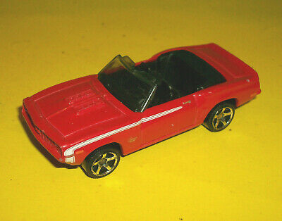 $4.94 • Buy ## Matchbox Red 1969 Chevrolet Camaro Ss 396 Convertible  Made In Thailand