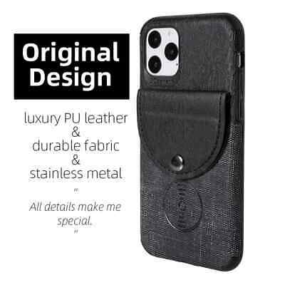 AU10.95 • Buy PU Leather Cloth Case With Card Holder For IPhone 7 8 Plus X XS MAX XR 11 Pro