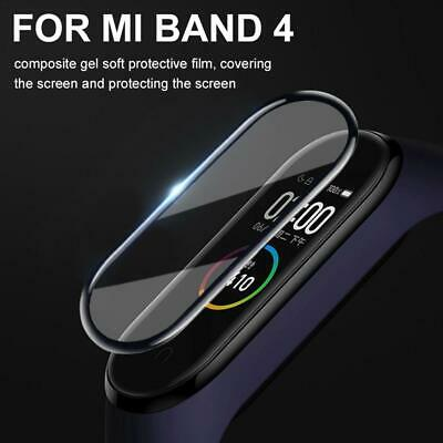 $6.59 • Buy For Xiaomi MI Band 4 Bracelet HD Anti-scratch Explosion-proof Composite Soft