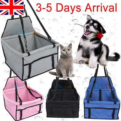 £10.08 • Buy Foldable Dog Pet Car Seat Carrier Case With Cover For Travel Camping Travelling