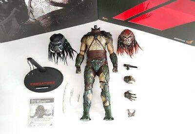 $ CDN349 • Buy [EXCLUSIVE] Hot Toys Predators: Tracker Predator + Extra Berserker Head MIB AVP