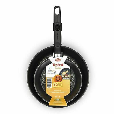 Tefal Extra Twin Non-Stick Frying Pan Set | Two Piece Fry Pan Pack (20cm & 26cm) • 21.95£