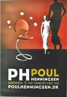 AU180.83 • Buy Original Vintage Poster DANISH FURNITURE DESIGN PH 2005