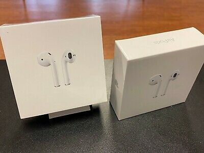 $ CDN169.57 • Buy Apple AirPods 2nd Generation Earbuds With Charging Case MV7N2AM/A - NEW + SEALED