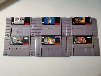 $ CDN199.99 • Buy Lot Of 6 Super Nintendo (SNES) Games, All Authentics, One Very Rare Game POCKY