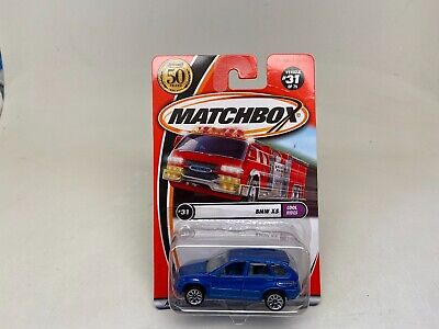 $14.99 • Buy Matchbox-bmw X5-cool Rides-blue-50years-sealed On Card-(2001) 31 Of 75