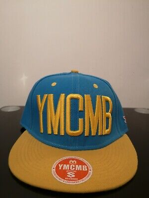 Brand New YMCMB Hollister Snapback Blue Yellow Adjustable Size W Tag • 9.99£