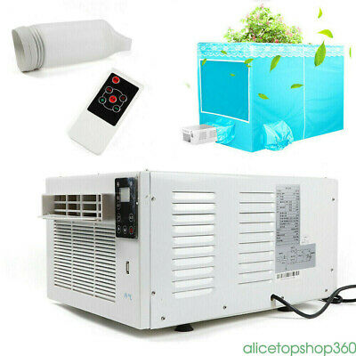 AU295.66 • Buy 1100W Air Conditioner Cooler Heater Window Refrigerated Cooling Timing Lighting