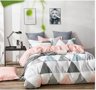 AU38 • Buy All Size Bed Quilt Duvet Doona Cover Set 100% Cotton Bedding Pillowcase Spirit