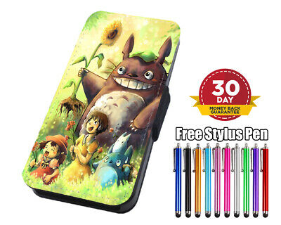 Cute Totoro  Flip Leather Phone Case For IPhone Samsung Huawei  • 7.95£