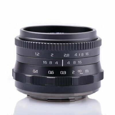 $ CDN115.54 • Buy 35mm F/1.2 APS-C Manual Prime Lens For Sony A6500 A6300 A6000 A5100 A5000 A7R