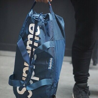 $ CDN350 • Buy Supreme SS17 Duffle Bag Blue
