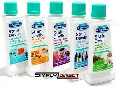 Dr Beckmann Stain Devils Removes Different Types Of Stains Very Effective 50ml • 3.50£