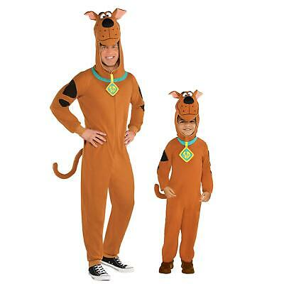 Official Scooby Doo Fancy Dress Fleece Dog Costume Book Day Week Carnival Warner • 26.77£