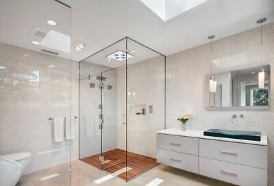 £89.99 • Buy SHOWER WALL PANEL Boards Sheets PVC Wet Wall Toughest LARGE SIZE 7 COLOURS
