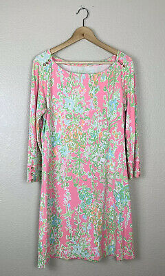 $65 • Buy Lilly Pulitzer Womens Large UPF 50+ Sophie Dress Southern Charm