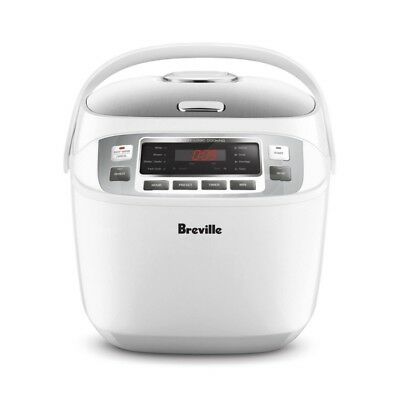 AU169 • Buy Breville LRC480WHT The Smart Rice Box™ 10 Cup Capacity Rice Cooker & Steamer