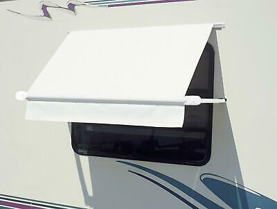 $220.26 • Buy CAREFREE WH0454F4FW White 4.5' (54 ) Simply Shade RV Window Awning