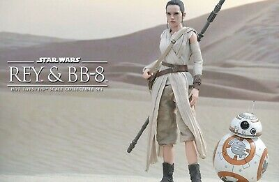 $ CDN397.17 • Buy Hot Toys Sideshow Rey BB8 Set The Force Awakens - Sealed, Never Opened