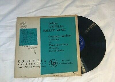 $9.95 • Buy Andy Warhol Cover-Delibes/Coppelia Ballet Music Columbia ML 4145 Mono LP-1949