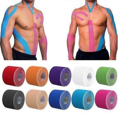 5M*5cm Athletic Trainer Muscle Support Sport Physio Strapping Kinesiology Tape K • 3.52£