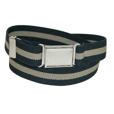 $8.44 • Buy New CTM Kids' Elastic Striped Belt With Magnetic Buckle