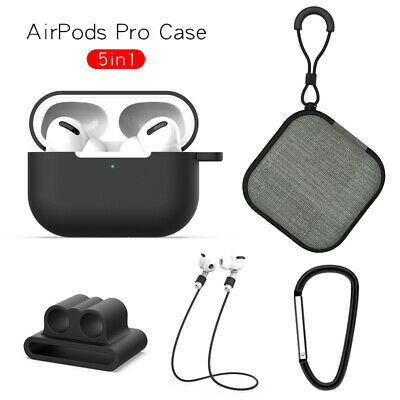 $ CDN5.88 • Buy For Airpods Pro Charging Earphone Case With 4 PCS Accessories TPU Silicone