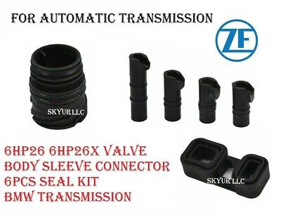 AU128.09 • Buy ZF 6HP26 6hp26X Valve Body Sleeve Connector Seal Kit 6 Piece Auto Transmission