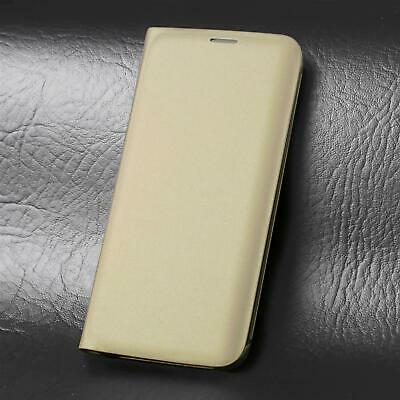$ CDN4.07 • Buy Leather Flip Case Wallet Cover For Samsung Galaxy S8 Plus In Gold