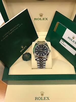 $ CDN12006.71 • Buy New Rolex Datejust 41mm 126300 Blue Index Dial Jubilee