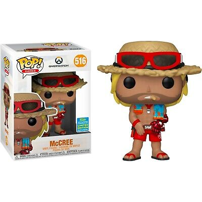AU19.99 • Buy Overwatch - McCree With Summer Skin Pop! Vinyl Figure (2019 Summer Convention)