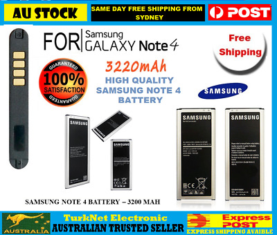 AU14.95 • Buy High Quality For Samsung Galaxy Note 4 Battery