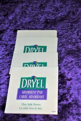 Dryel At Home Dry Cleaning Stain Remover Absorbant Pad (4 Pads) • 3.28£