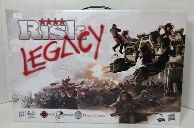 $26 • Buy Hasbro RISK Legacy Board Game Brand New Factory Sealed ~ Wizards Of The Coast