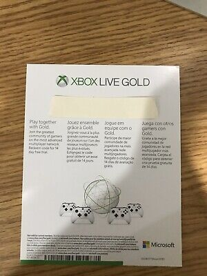 $25 • Buy Xbox Live 14 Day Gold 2 Weeks Trial Membership
