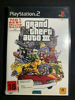 AU149.90 • Buy Grand Theft Auto III 3 FIRST PRINT - Sony PlayStation 2 RARE W/ Manual + Poster