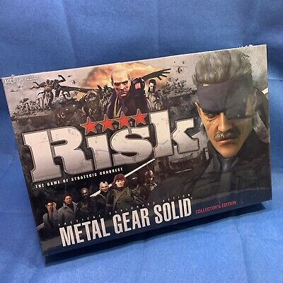 $59.95 • Buy Risk  Metal Gear Solid  Collectors Edition Brand New Never Opened Factory Sealed