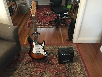 AU25 • Buy Electric Guitar. Ashton Guitar Pack With Amplifier. Good Condition.